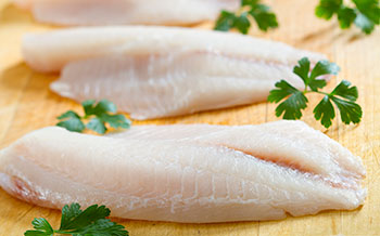 photo white fish fillet